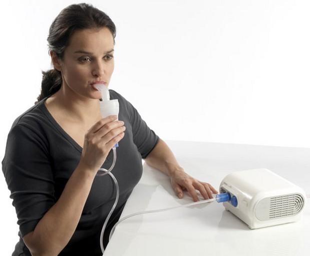 Ингаляция в домашних условиях при кашле небулайзером 25